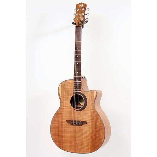 Luna Guitars Woodland Series Spalted Maple Acoustic-Electric Guitar-thumbnail