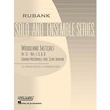 Rubank Publications Woodland Sketches, Op. 51 (Brass Sextet or Choir - Grade 2) Rubank Solo/Ensemble Sheet Series