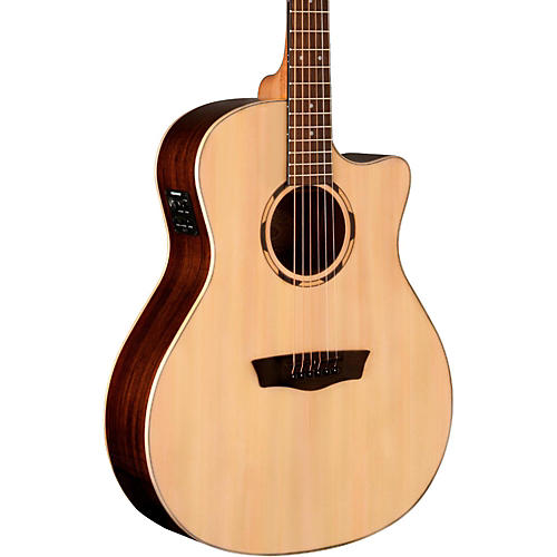 Washburn Woodline Series WLO20SCE Acoustic-Electric Cutaway Orchestra Guitar