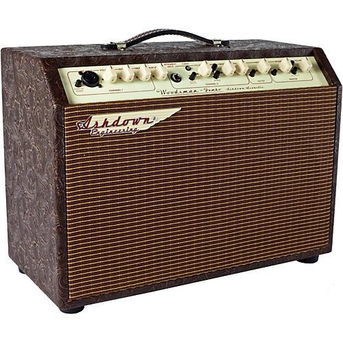 Ashdown Woodsman Jumbo 65W 2x8 Acoustic Guitar Combo Amp with Reverb-thumbnail