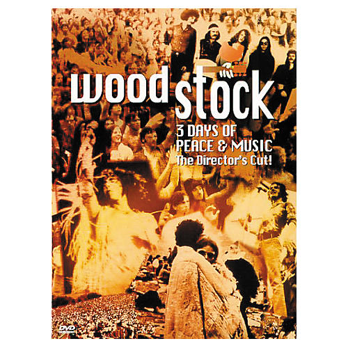 Music CD Woodstock: 3 Days of Peace and Music (DVD)
