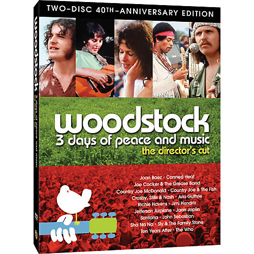 Alfred Woodstock 40th Anniversary Special Edition - 2 DVD Set-thumbnail