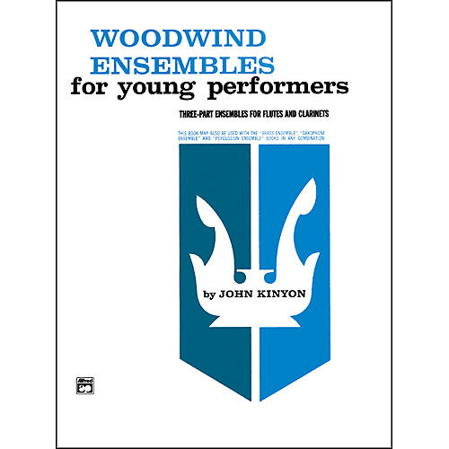 Alfred Woodwind Ensembles for Young Performers Flute 2 Clarinets-thumbnail