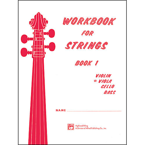 Alfred Workbook for Strings Book 1 Viola-thumbnail