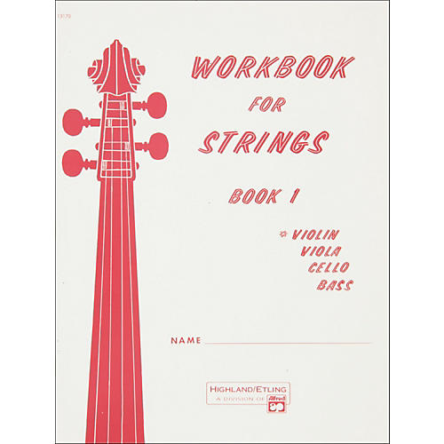 Alfred Workbook for Strings Book 1 Violin-thumbnail