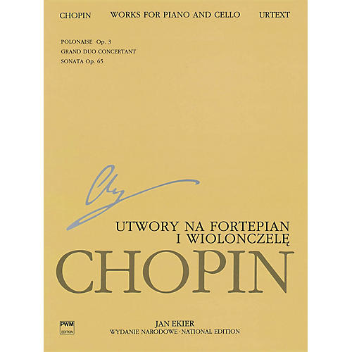 PWM Works for Piano and Cello (Chopin National Edition 23A, Vol. XVI) PWM Series Softcover