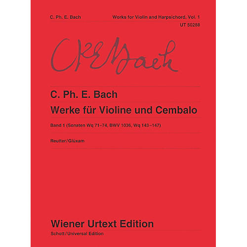 Carl Fischer Works for Violin and Harpsichord Book 1-thumbnail