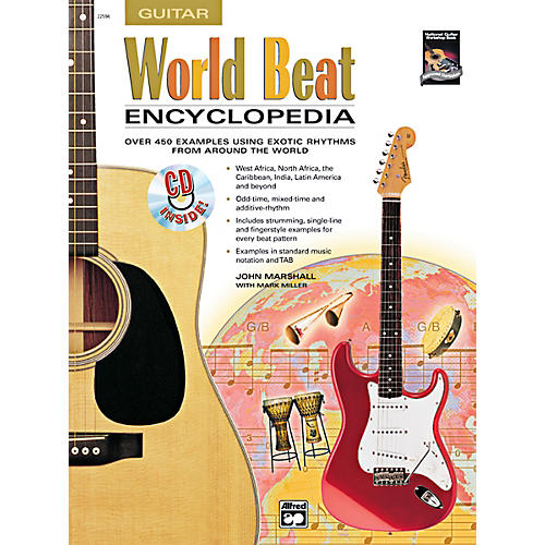 Alfred World Beat Encyclopedia Book & CD-thumbnail