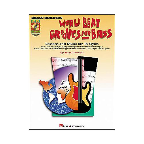 Hal Leonard World Beat Grooves for Bass (Book/CD)-thumbnail