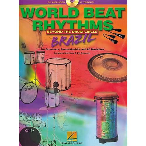 Hal Leonard World Beat Rhythms Brazil (Book/CD)-thumbnail