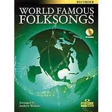 Fentone World Famous Folksongs (for Recorder) Fentone Instrumental Books Series