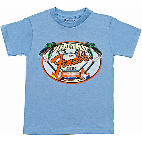Fender World Famous Visitor's Center Youth T-Shirt-thumbnail