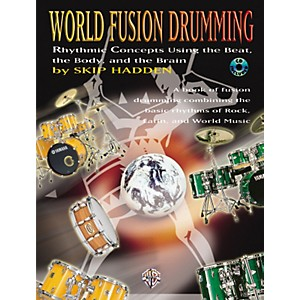 Alfred World Fusion Drumming Book/CD by Alfred