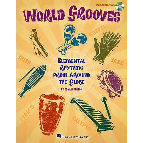 Hal Leonard World Grooves - Elemental Rhythms From Around the Globe Book/CD