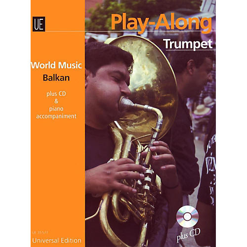 Carl Fischer World Music - Balkan Play Along Trumpet-thumbnail