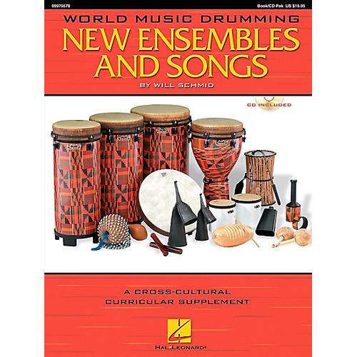 Hal Leonard World Music Drumming: New Ensembles and Songs-thumbnail