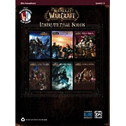 Alfred World of Warcraft Instrumental Solos Alto Sax Book & CD