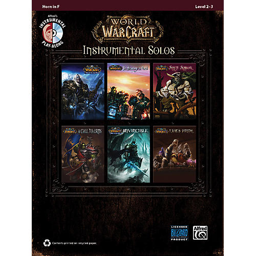 Alfred World of Warcraft Instrumental Solos Horn in F Book & CD-thumbnail