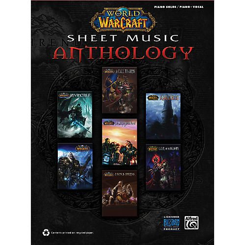 Alfred World of Warcraft Sheet Music Anthology-thumbnail