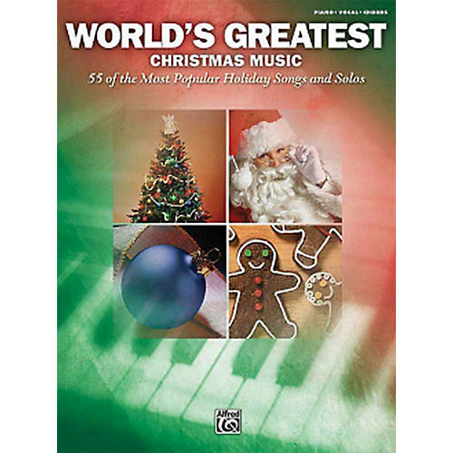 Hal Leonard World's Greatest Christmas Music 55 Most Popular Holiday Songs For Piano/Vocal/Guitar-thumbnail