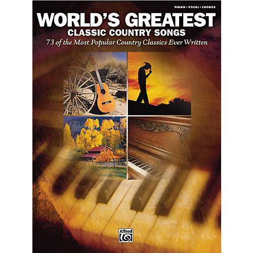 Alfred World's Greatest Classic Country Songs Piano/Vocal/Chords