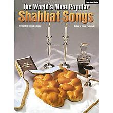 Tara Publications World's Most Popular Shabbat Songs Piano, Vocal, Guitar Songbook