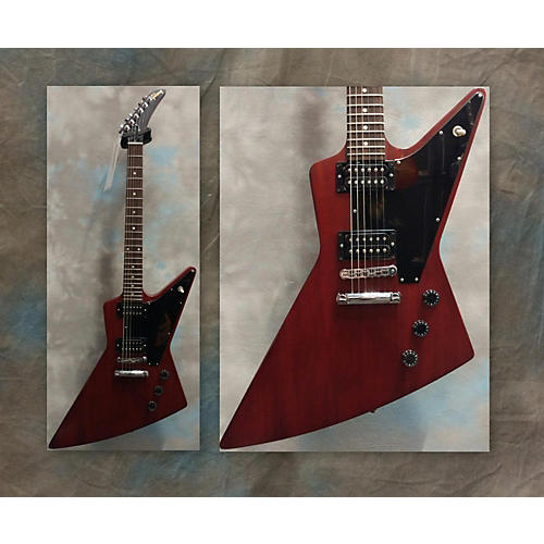 Gibson Worn Explorer Solid Body Electric Guitar-thumbnail
