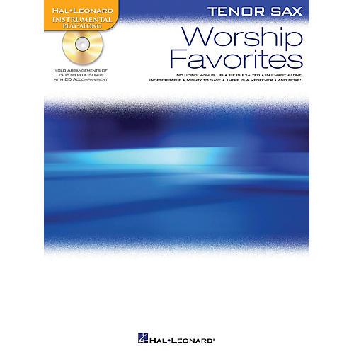 Hal Leonard Worship Favorites Instrumental Play-Along Series Book with CD