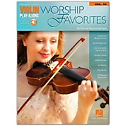 Hal Leonard Worship Favorites Violin Play-Along Volume 59 Book/Online Audio