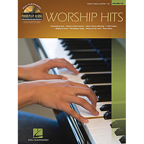 Hal Leonard Worship Hits - Piano Play-Along Series Volume 122 Book/CD-thumbnail