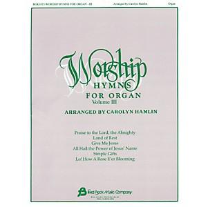 Hal Leonard Worship Hymns For Organ - Volume 3 by Hal Leonard
