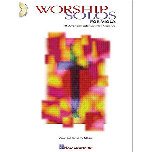Hal Leonard Worship Solos for Viola Book/CD