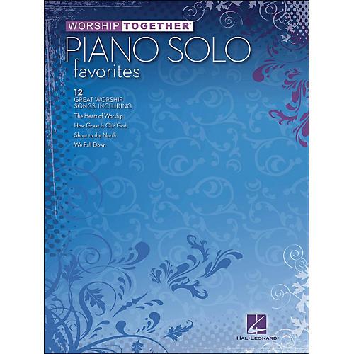 Hal Leonard Worship Together Piano Solo Favorites-thumbnail