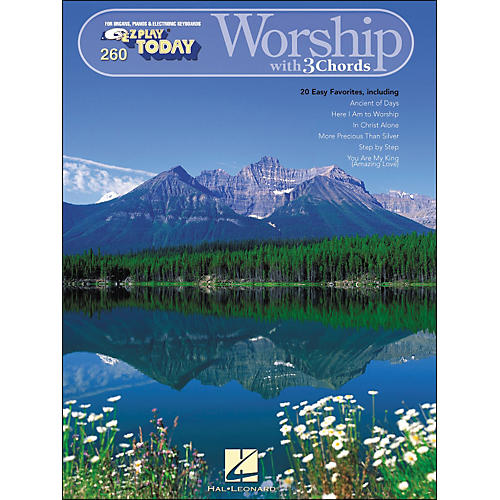 Hal Leonard Worship with 3 Chords E-Z play 260-thumbnail