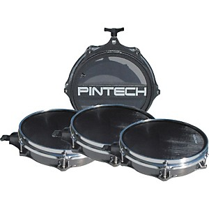 Pintech Woven Head Snare Drum and Tom Pad Set by Pintech