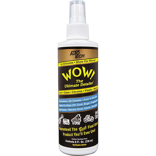 Auto Tech Wow Instrument Polish 8 oz.