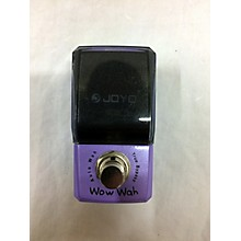 Joyo Wow Wah Effect Pedal