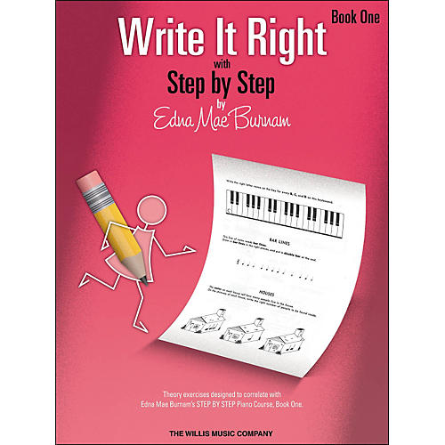 Willis Music Write It Right - Book 1