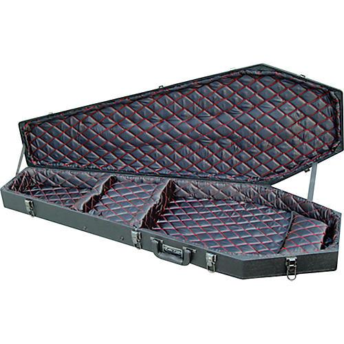 Coffin Case X-175 Universal Electric Guitar Case Black
