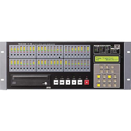 Tascam X-48 48-Track Hybrid Hard Disk Workstation
