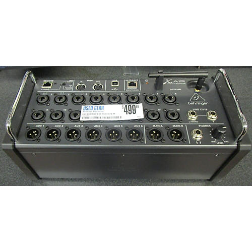 used behringer x air xr18 digital mixer guitar center. Black Bedroom Furniture Sets. Home Design Ideas
