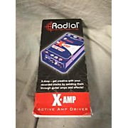 Radial Engineering X AMP REAMP Guitar Preamp