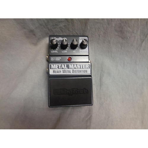 Digitech X Metal Master Heavy Metal Distortion Effect Pedal