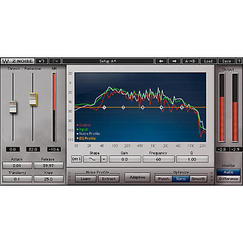 Waves X-Noise Native/TDM/SG Software Download-thumbnail