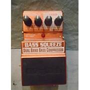 DigiTech X SERIES BASS DUAL BAND BASS COMPRESASOR Bass Effect Pedal