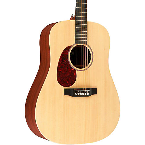 Martin X Series 2015 DX1AE Left-Handed Dreadnought Acoustic-Electric Guitar