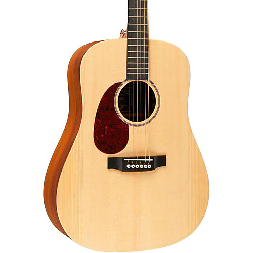 Martin X Series 2015 DX1KAE Left-Handed Dreadnought Acoustic-Electric Guitar Natural