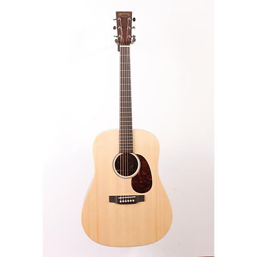 Martin X Series 2015 DX1RAE Dreadnought Acoustic-Electric Guitar Natural 886830976438