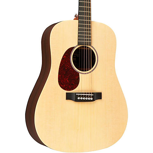 Martin X Series 2015 DX1RAE Left-Handed Dreadnought Acoustic-Electric Guitar Natural