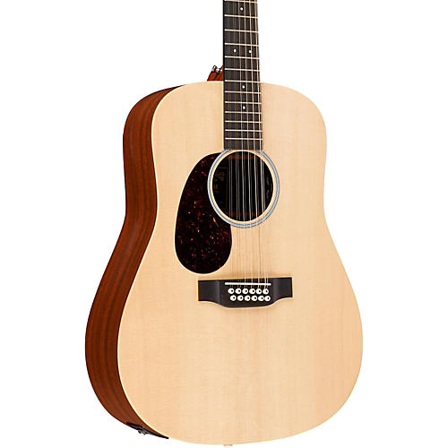 Martin X Series 2016 12-string Martin D12X1AE-L Left-Handed Acoustic-Electric Natural